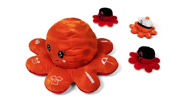 product launch avene - cute pluch octopus